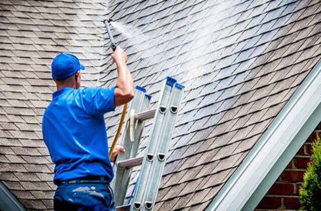 mesa roof cleaning