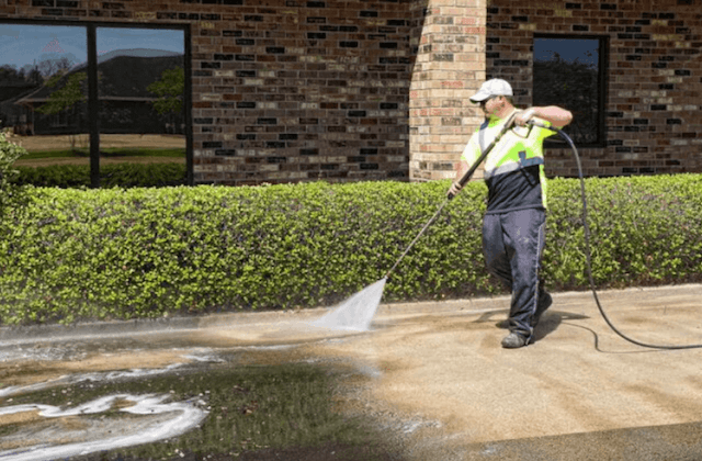 commercial concrete cleaning in mesa